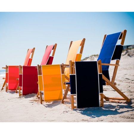 Frankford Umbrella Commercial Oak Wood Beach Chairs
