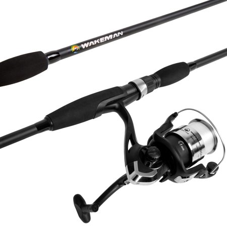 Strike Series Spinning Fishing Rod and Reel Combo - Fishing Pole by (Best Ice Fishing Pole)
