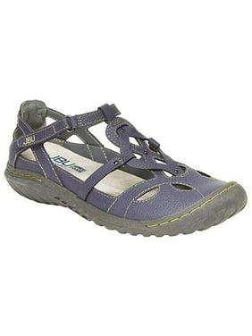 JBU by Jambu Ladies' Sydney Sandal for Women, Size 9, Denim/Blue - NEW