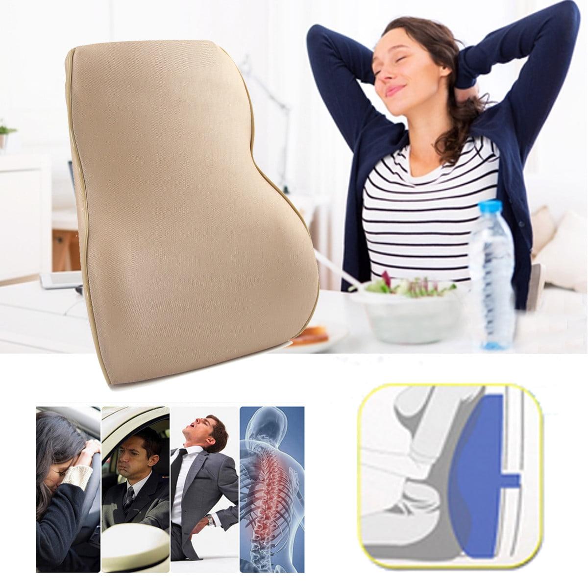 Memory Foam Lumbar Support Back Cushion