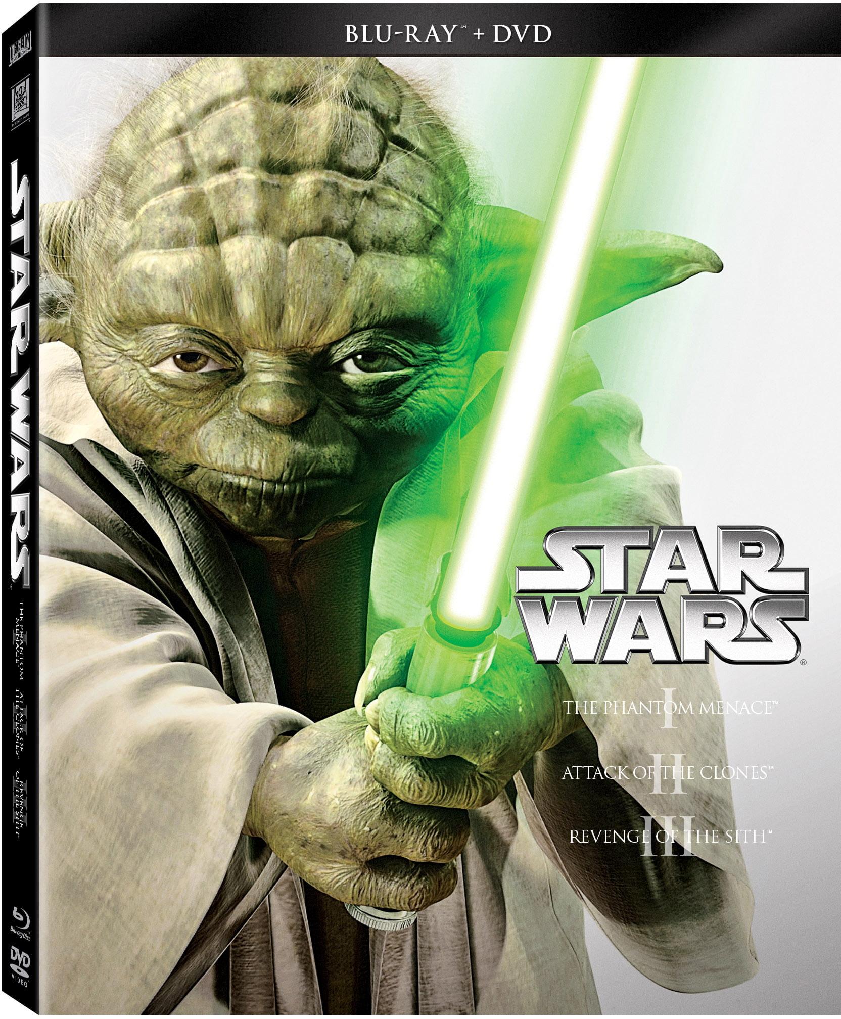 Star Wars Trilogy: Episodes I-III (Blu-ray + DVD) by