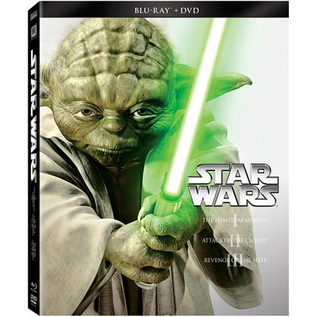 Star Wars Trilogy: Episodes I-III (Blu-ray + DVD) (All Simpsons Halloween Episodes)