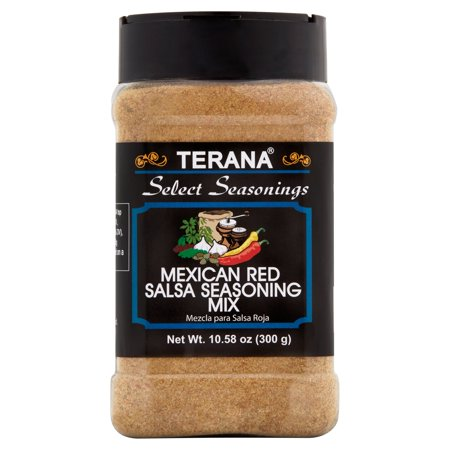 - Terana Select Seasoning Mexican Red Salsa Seasoning Mix, 10.58 oz
