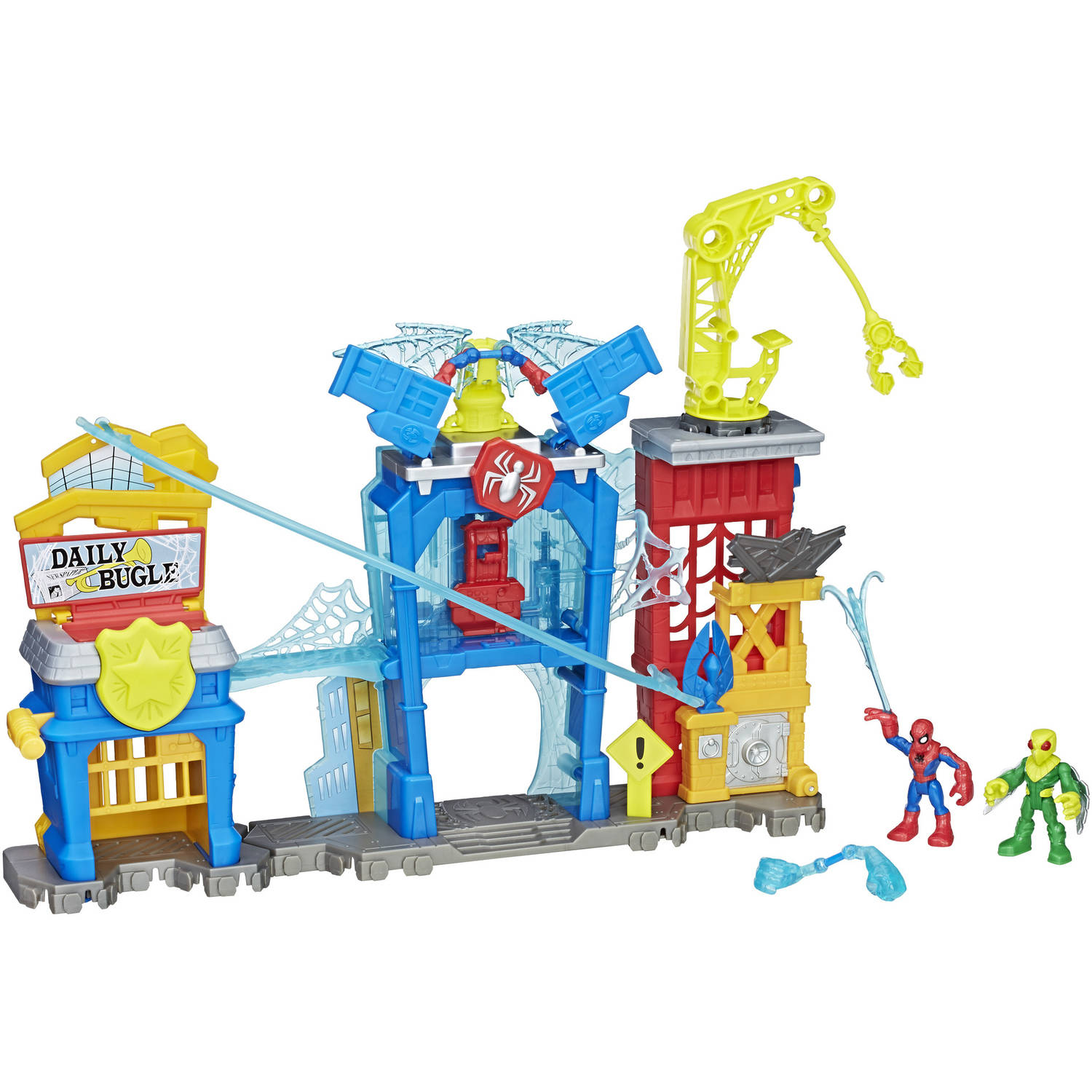 Playskool Heroes Marvel Super Hero Adventures Spider-Man Web-Quarters by Playskool