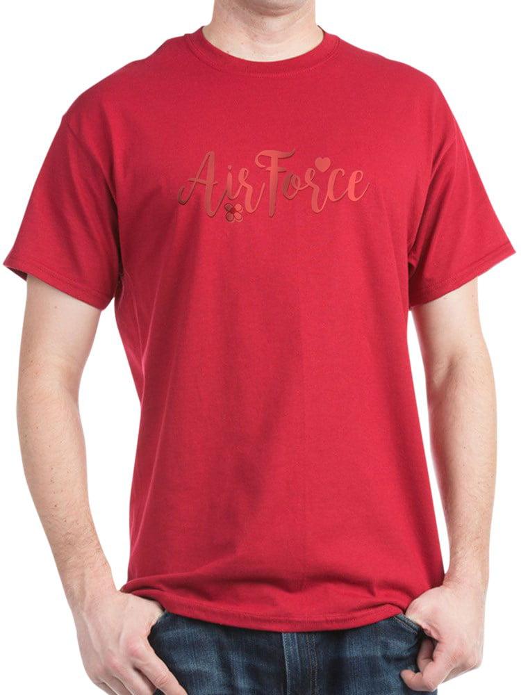 Air Force Girly Text T-Shirt - 100% Cotton T-Shirt