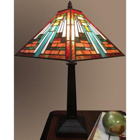 Warehouse of tiffany elena 1 light tiffany style 12 inch for 12 inch table lamp