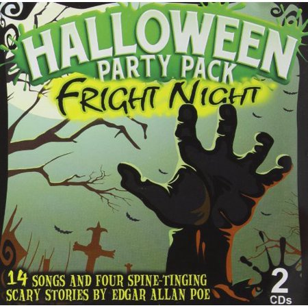 Fright Night Halloween Pack - 2 CD Set - Halloween Music Collection Cd