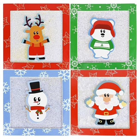Set of 4 Christmas/Holiday Money/Gift Card Holder Gift Boxes 4.5