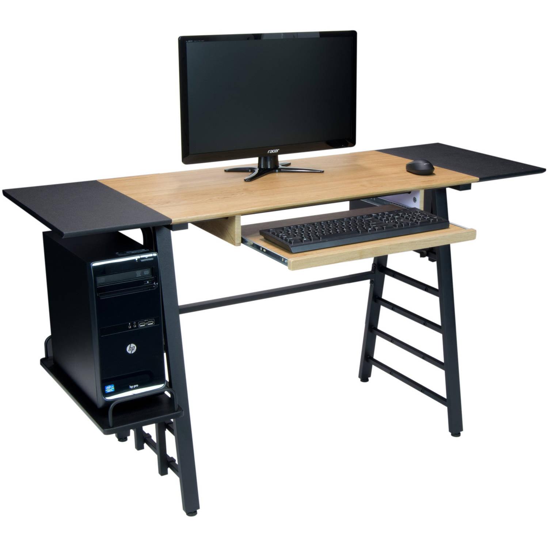 Calico Designs Ashwood Convertible Desk, Ashwood/Graphite