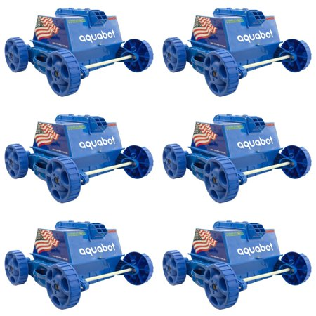 Aquabot Pool Rover Junior/Jr. Above Ground Swimming Pool Robot Cleaner (6 Pack)