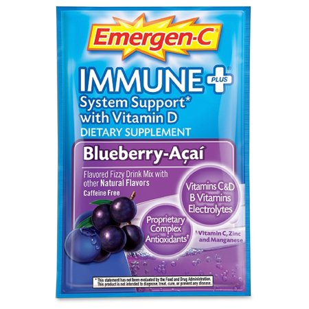 Emergen C Immune  Formula   3Oz  Blueberry Acai  30 Pack