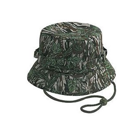OTTO Camouflage Cotton Twill Bucket Hat - (Camouflage Buckle)