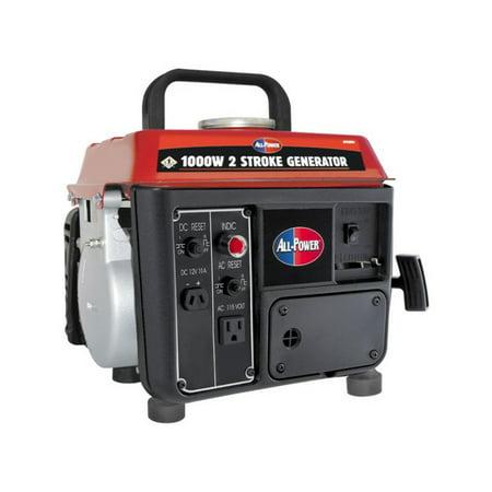 All Power 1000W 2 HP Generator - 2 Stroke