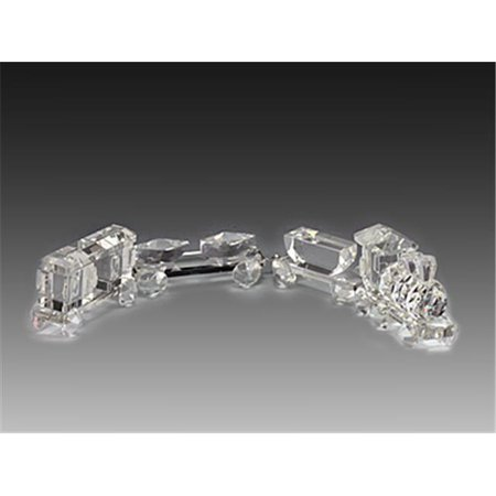 Asfour Crystal 219 5 94 L X 1 57 H In  Crystal Train Group Transportation Figurines