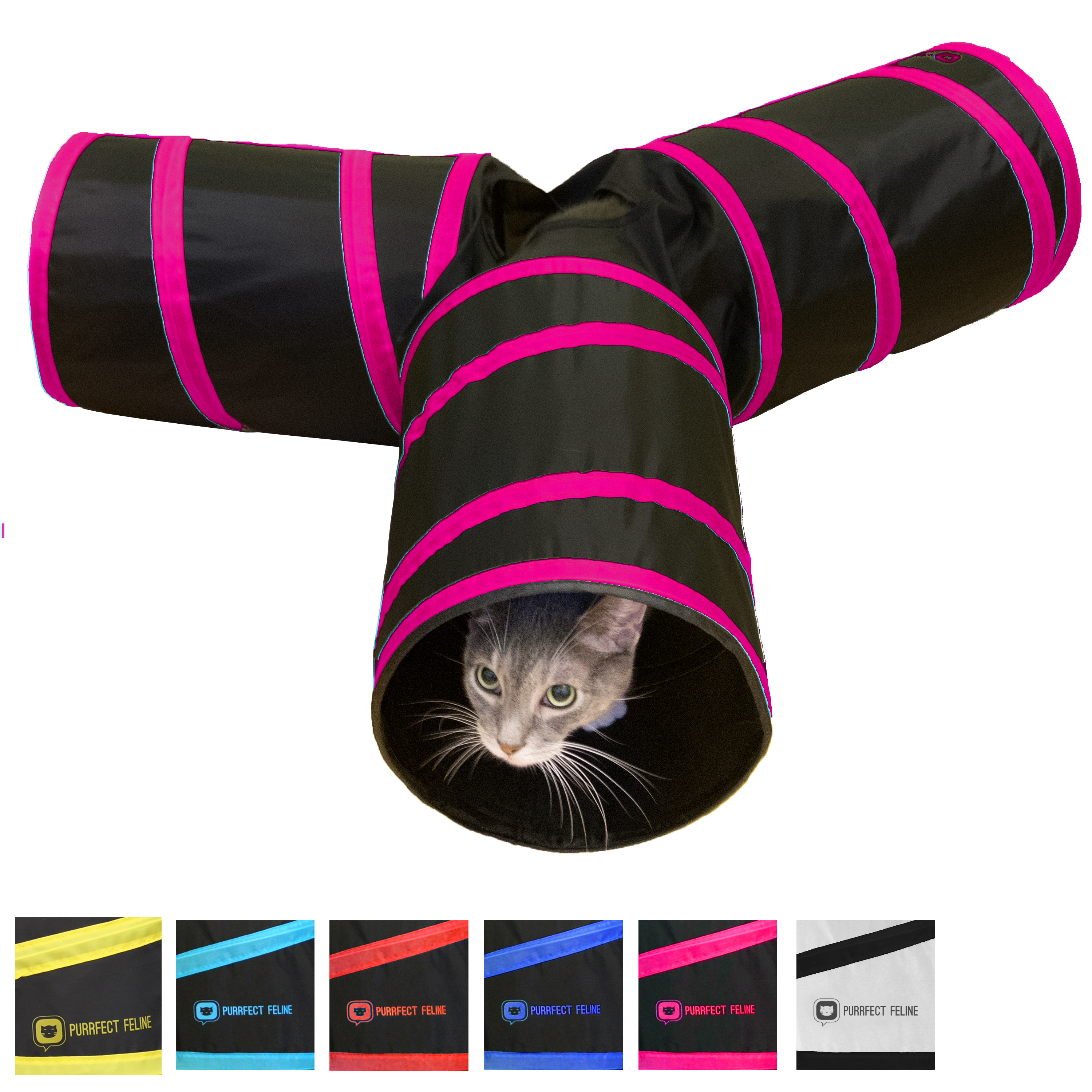Downtown Pet Supply, LLC Collapsible Cat Tunnel