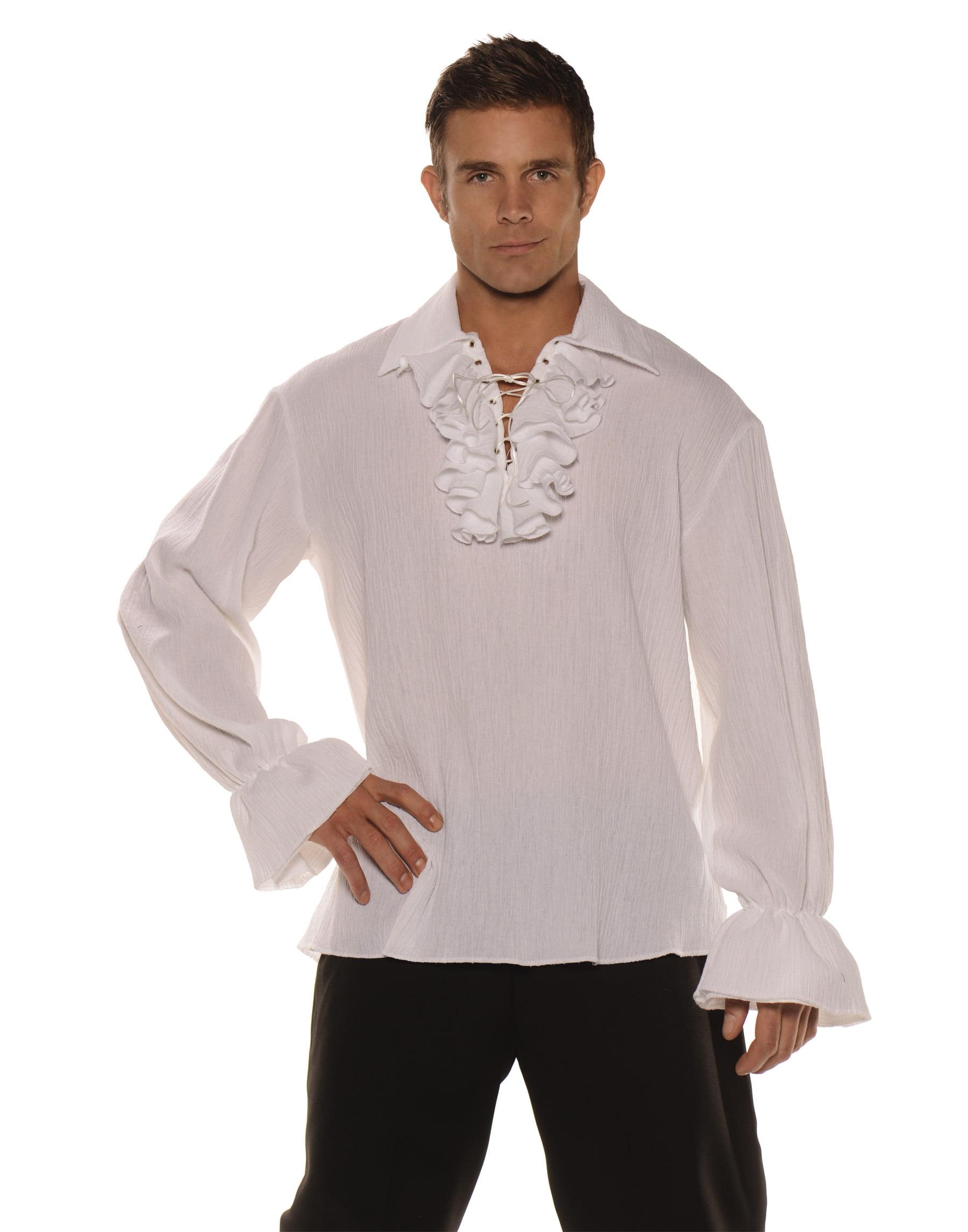 Adult Male Pirate Shirt White