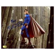 Brandon Routh Autographed Superman Returns Island 8x10 Photo