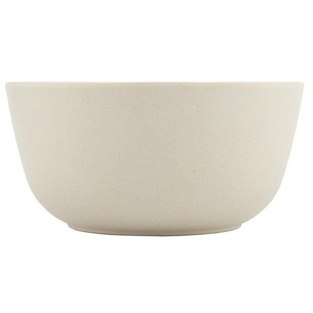 Melange 36 Piece Bamboo Bowl Set Rounds Collection Shatter Proof And Chip Resistant Bamboo Bowls Color Natural Beige Walmart Com Walmart Com
