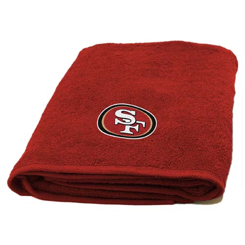 NFL San Francisco 49ers Decorative Bath Collection - Bath Towel
