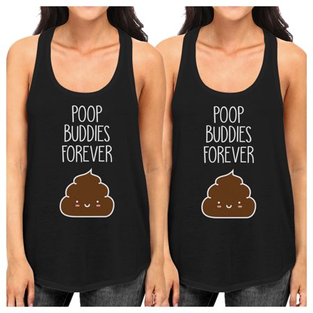 f892e5497f129e 365 Printing - Poop Buddies Womens White BFF Matching Gift Tank Tops For  Friends - Walmart.com