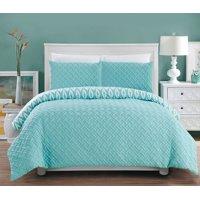 Chic Home Sabina 3 Piece Reversible Comforter Set
