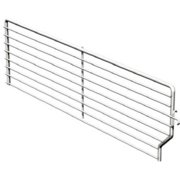 Lozier Store Fixtures BFD315 BCP 3 High x 15 Deep in. Wire Bin Divider - Pack Of 40
