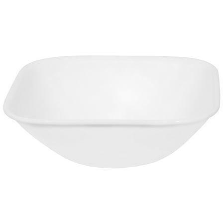 Corelle Square 22-Ounce Soup/Cereal Bowl, Pure White ()