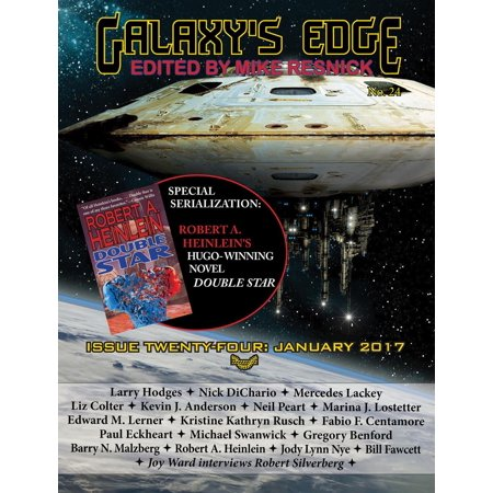 Galaxy's Edge Magazine: Issue 24, January 2017 (Serialization Special: Heinlein's Hugo-winning Double Star) - eBook ()