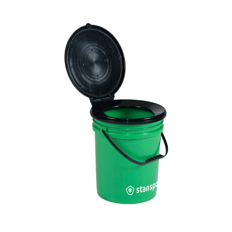 5 Gallon Bucket Toilet Seat Walmart.Stansport Bucket Style Portable Toilet Walmart Com
