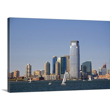 Great Big Canvas David R  Premium Thick Wrap Canvas Entitled Goldman Sachs Tower In Jersey City  New Jersey