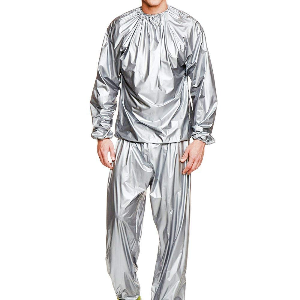 Heavy Duty Sweat Suit Sauna Exercise Gym Suit Fitness Sauna Suit , Weight Loss, and Anti-Rip