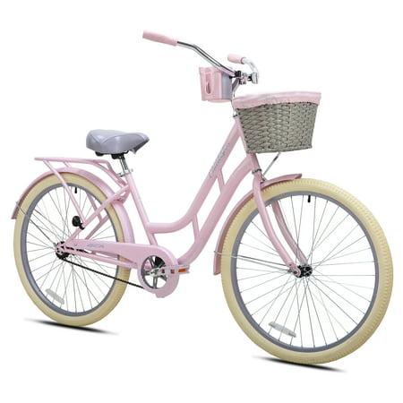 "BCA 26"" Charleston Ladies Cruiser Bike, Pink"