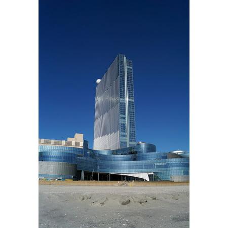 LAMINATED POSTER Ocean Atlantic City Revel Boardwalk Casino Poster Print 24 x 36