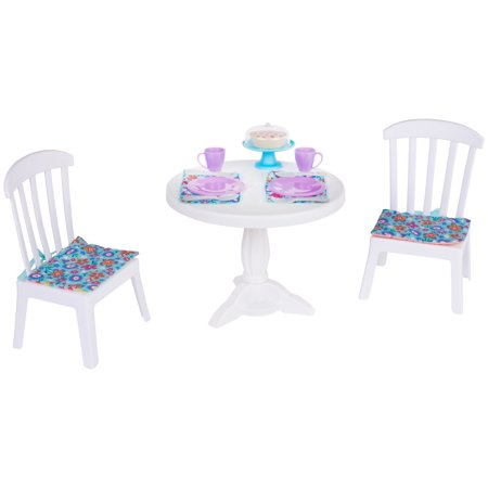 "My Life As 15-Piece Dining Room Play Set, for Play with Most 18"" Dolls"