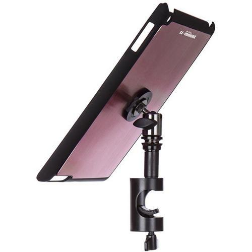On-Stage TCM9161M iPad Snap-On Cover with Round Clamp, Mauve
