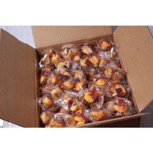 100 Pcs Fortune Cookies Fresh Single Wrap(golden Bowl) by