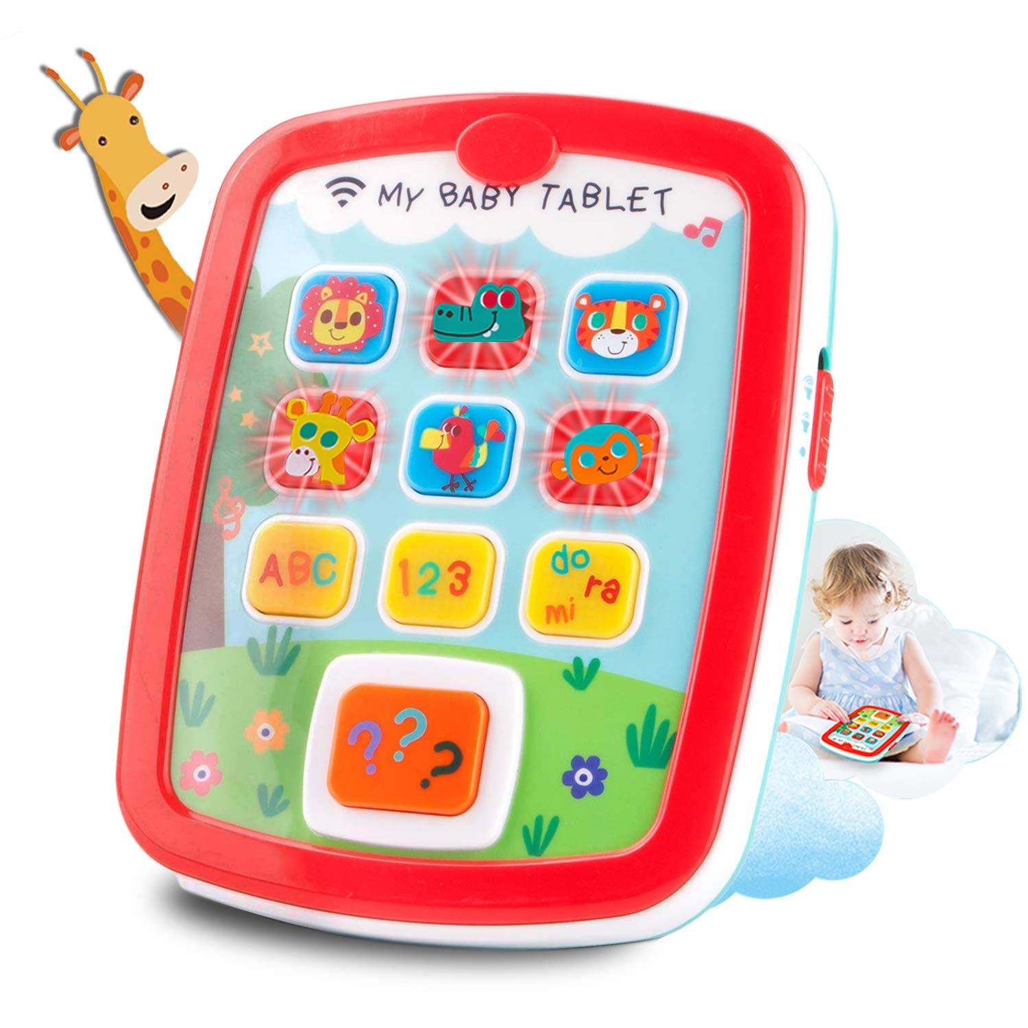 HISTOYE Baby Tablets for 1 + Year Old Learning Toys for ...