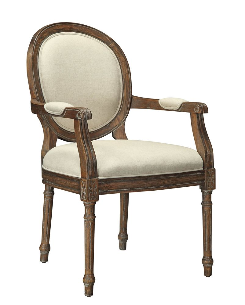 Coast To Coast Imports, LLC Treasure Trove Accents Freeman Mid Brown Accent  Chair