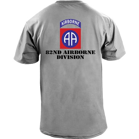 Army 82nd Airborne Division Full Color Veteran T-Shirt 1st Cavalry Division T-shirt