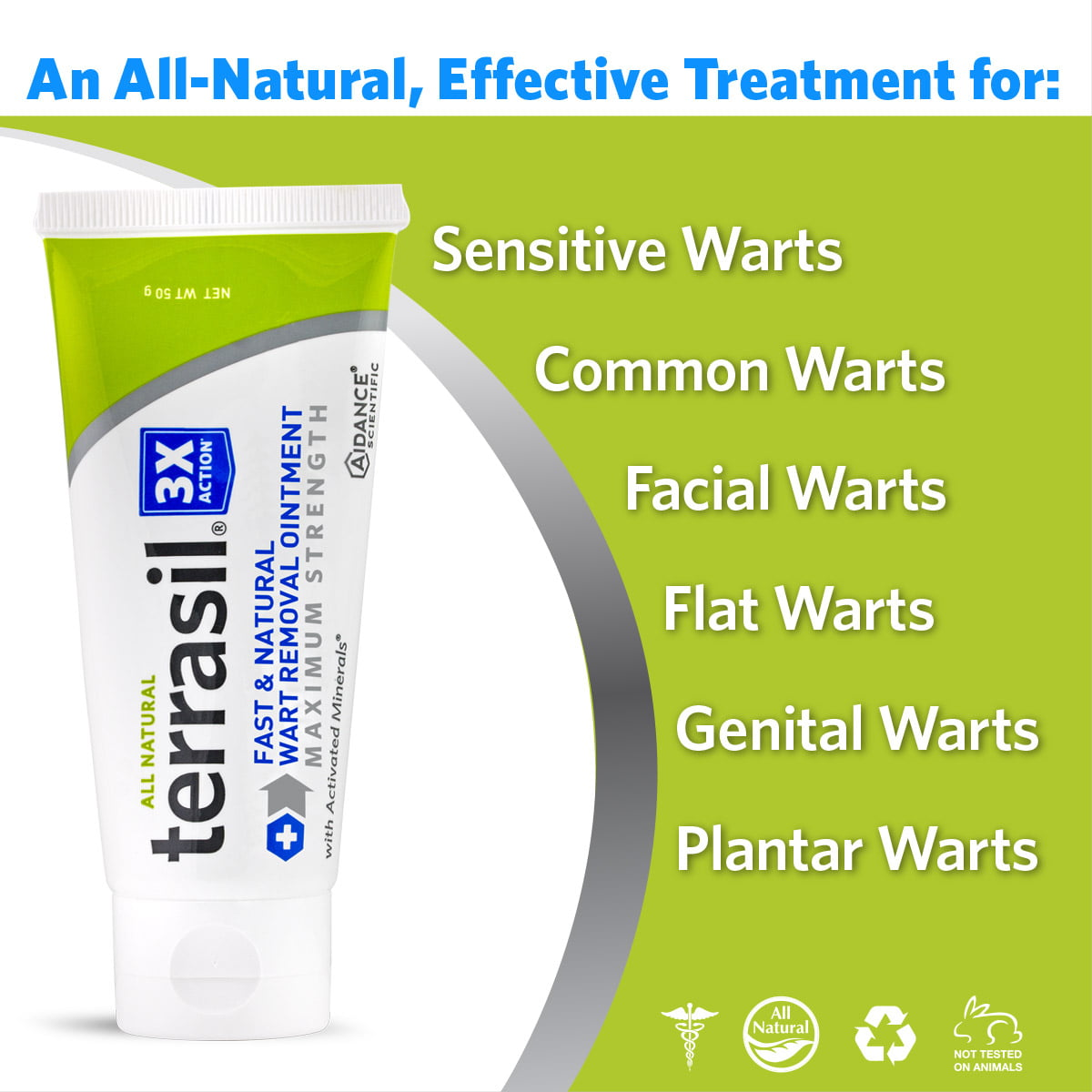 Terrasil Fast Natural Wart Remover Max Strength With All Natural