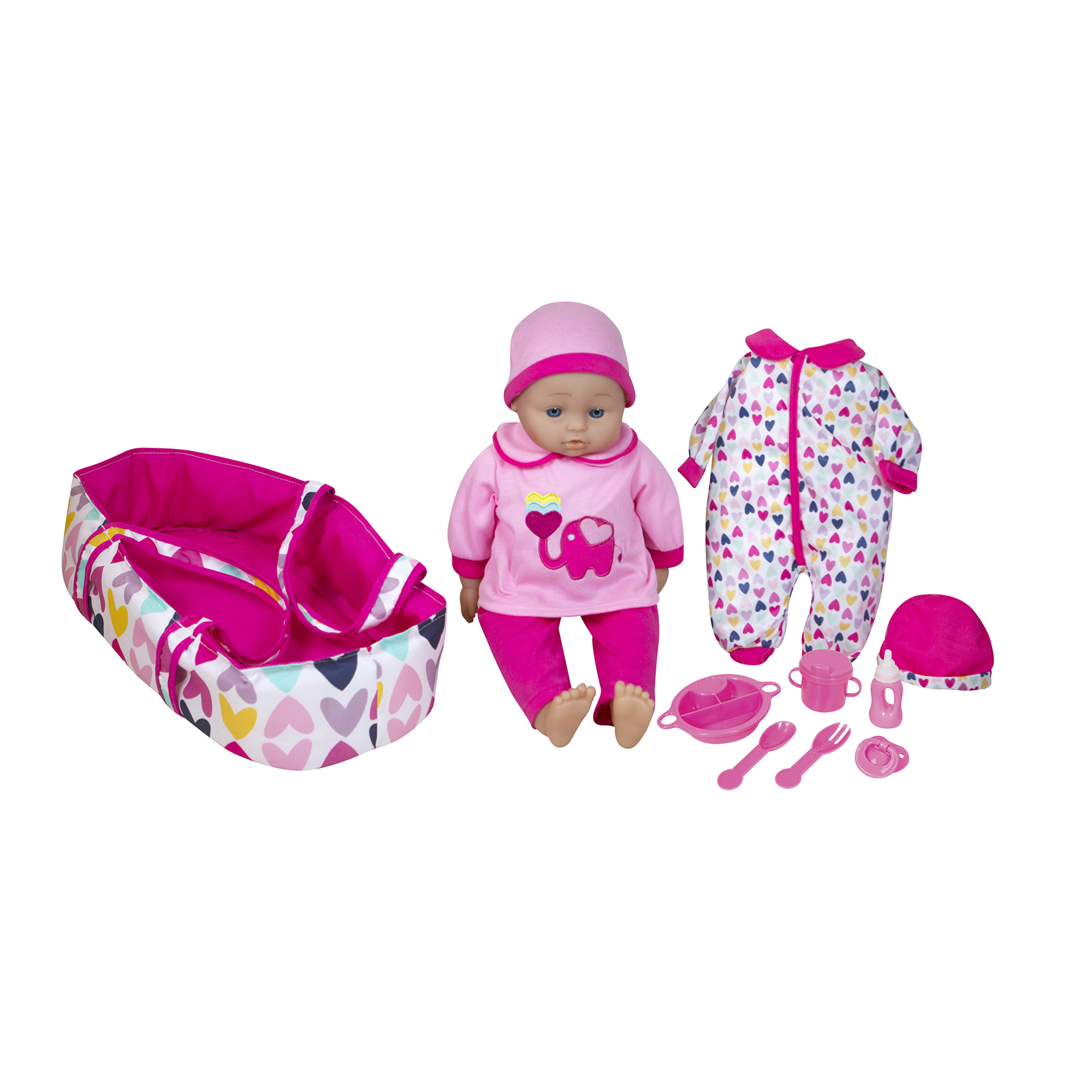"Lissi 16"" Talking Baby doll with Accessories"