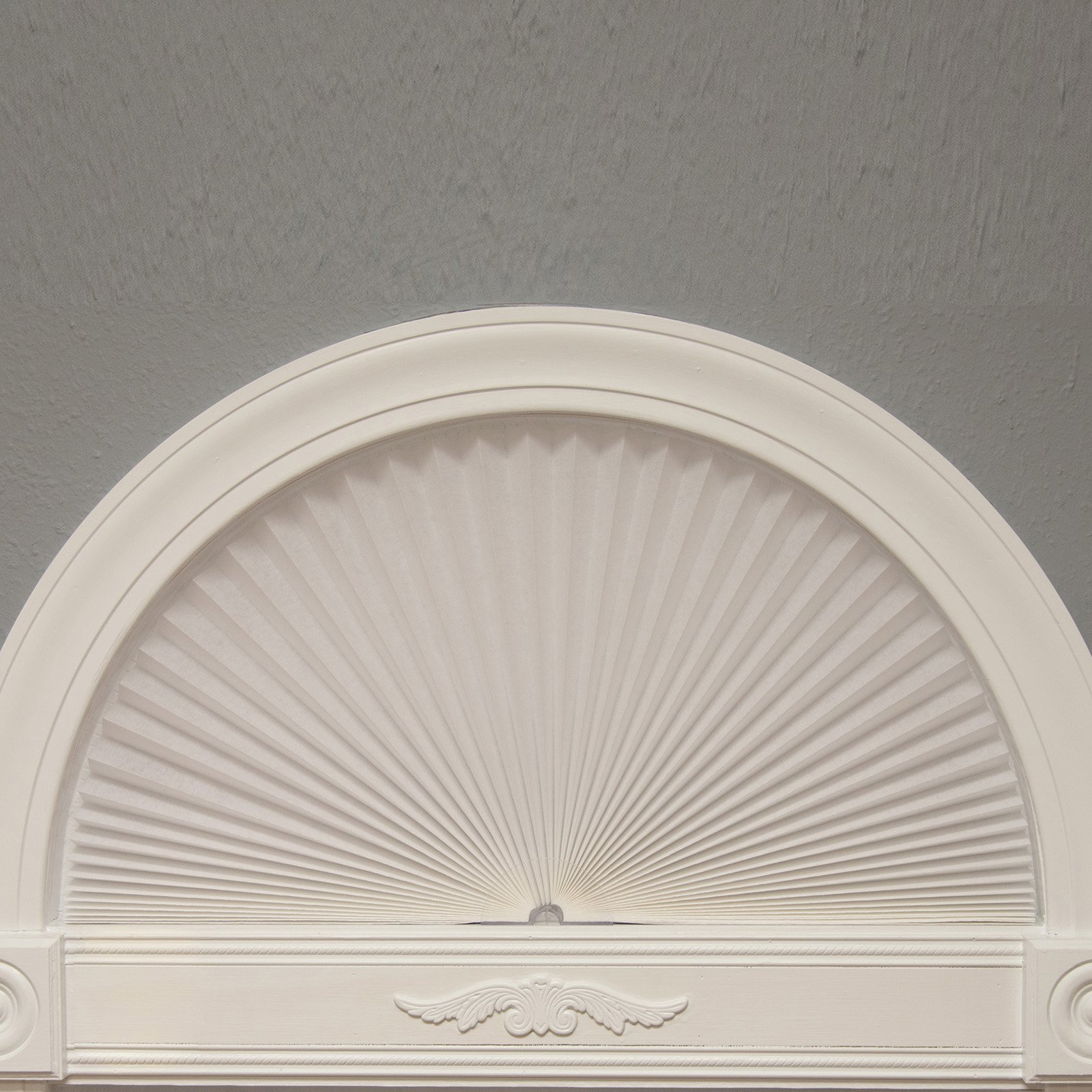 Redi Shade Original Arch Light Blocking Pleated Fabric Window Shade