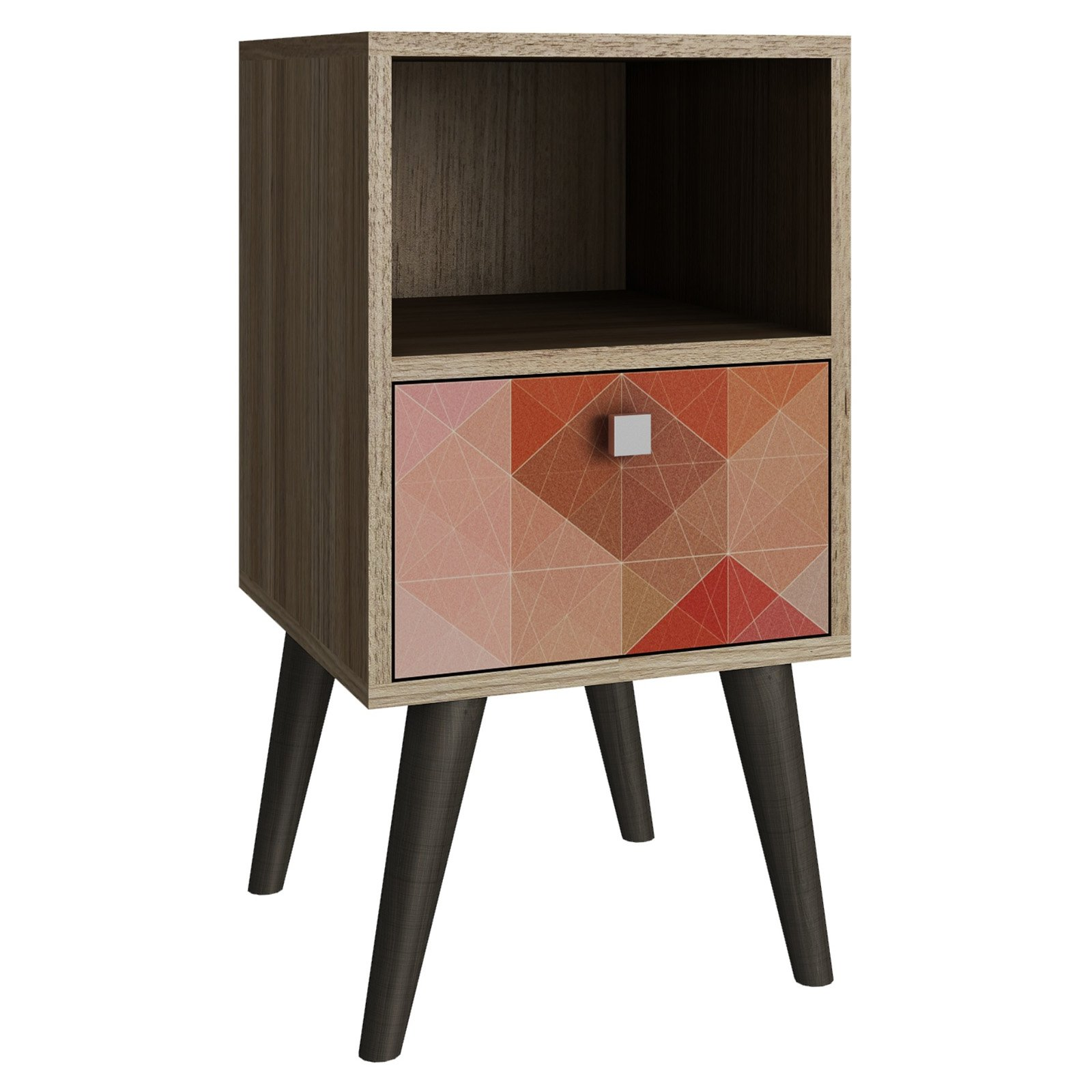 Accentuations by Manhattan Comfort Abisko Side End Table