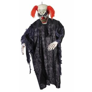 PROP-7' VACU HANGING CLOWN (Halloween Clown Props Uk)