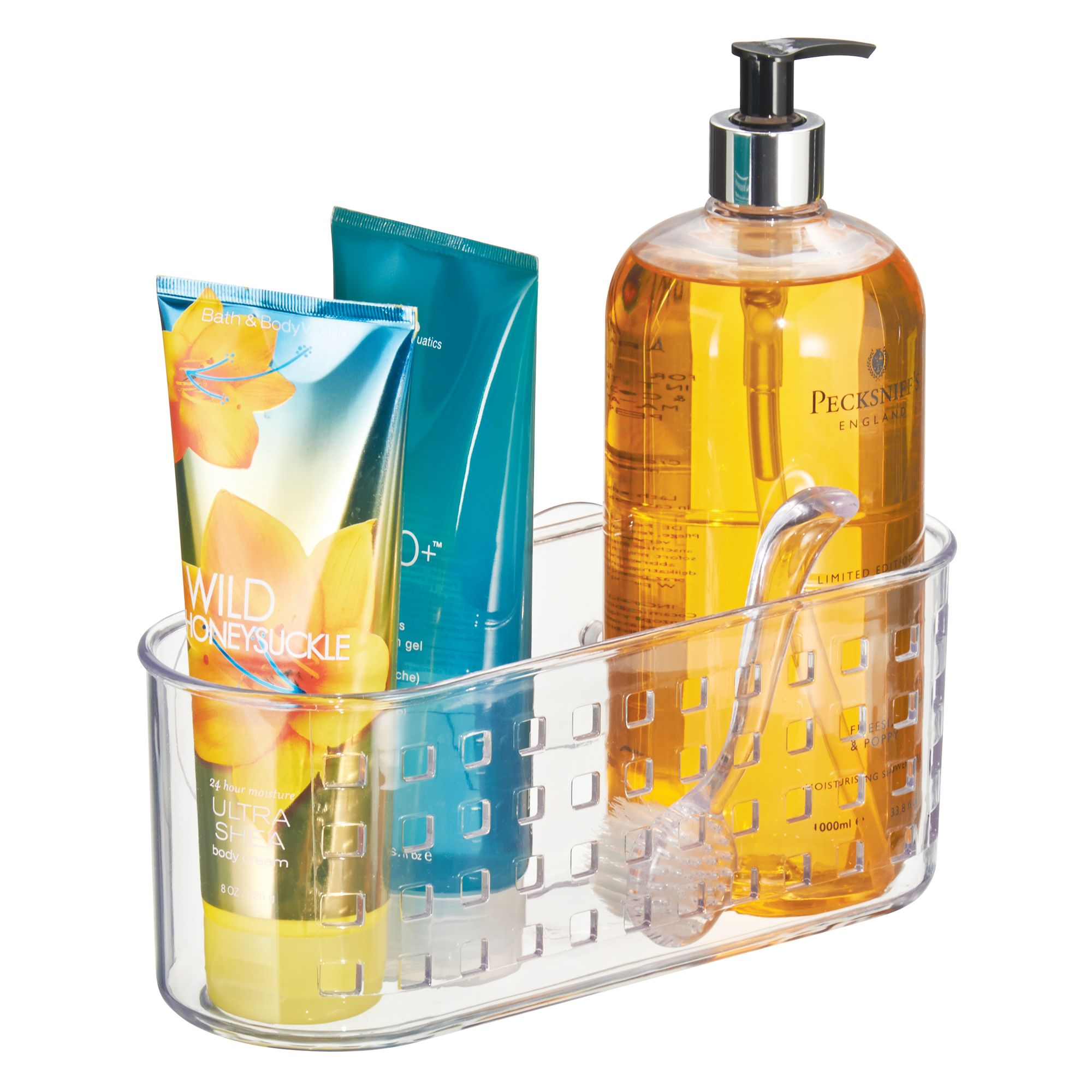 InterDesign Suction Bathroom Shower Caddy Basket - Walmart.com