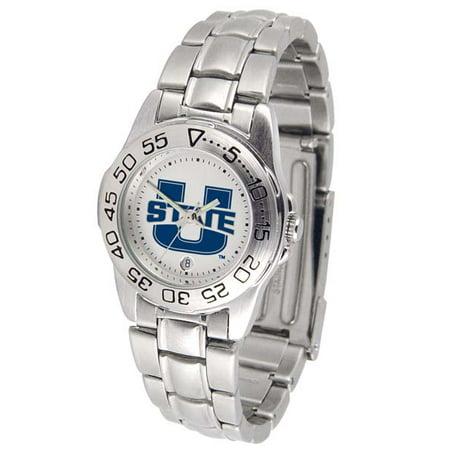 Utah Utes Competitor Steel Watch - Utah State Sport Women's Steel Band Watch