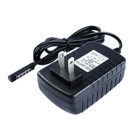 US Plug 12V Portable Travel AC Adapter Surface 10.6 RT Windows 8 Tablet Charger Power Supply Cable