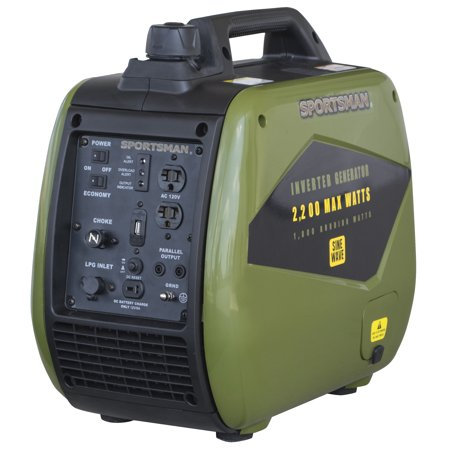 Sportsman 2200 Watt Dual Fuel Inverter Generator for Sensitive (Best Generator For Tailgating)