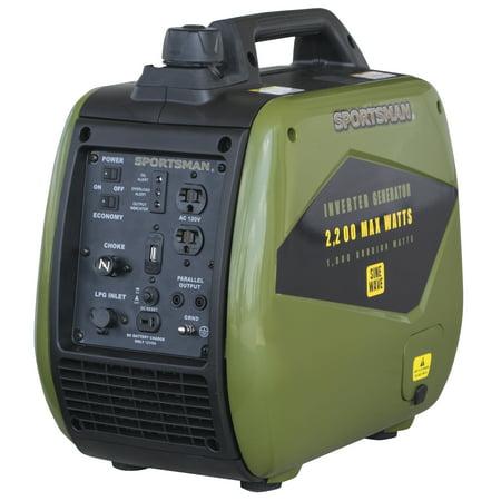 Hand Crank Power Generator - Sportsman 2200 Watt Dual Fuel Inverter Generator for Sensitive Electronics