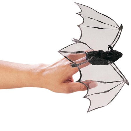 - Folkmanis Mini Bat Finger Puppet